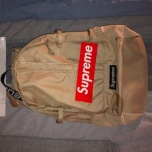 Supreme SS18 Tan Backpack